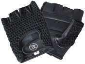 Fitness-Mad Mesh Training Gloves