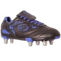 Optimum Razor Rugby Boot Senior Black/Blue